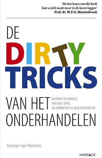 De Dirty Tricks van het onderhandelen-George van Houtem_Lunch Learners_Lunch Learners boekpresentaties